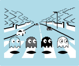 Pac Man Abbey Road